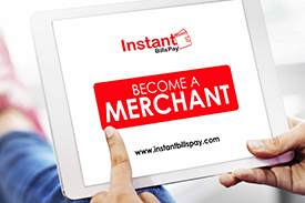 become a merchant on instant bills pay